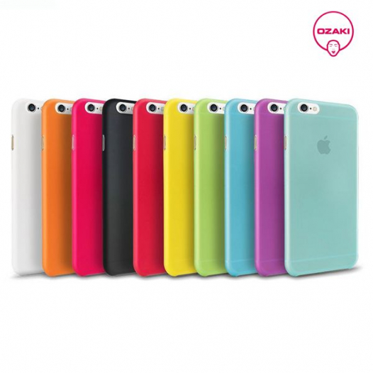 Ультратонкая пластиковая накладка Ozaki 0.3 Jelly Series для Apple iPhone 6/6s (4.7