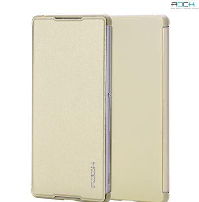 Кожаный чехол (книжка) Rock Delight Series для Sony Xperia Z3+/Xperia Z3+ Dual
