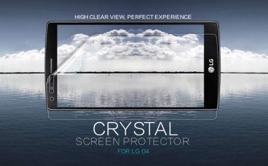 Защитная пленка Nillkin Crystal для LG H815 G4/H818P G4 Dual