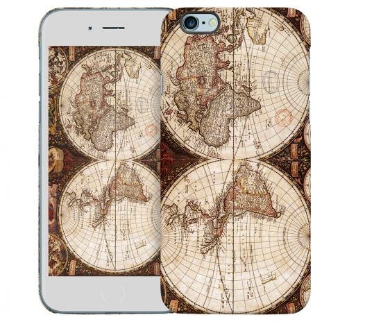 Чехол «Карта» для Apple iPhone 6 4.7