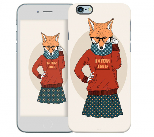 Чехол «Nerdy girl» для Apple iPhone 6 4.7