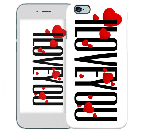 Чехол «I Love You» для Apple iPhone 6 4.7
