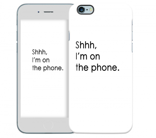 Чехол «Shhh...» для Apple iPhone 6 4.7