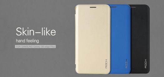 Чехол (книжка) Rock Touch series для Samsung Galaxy S6 Edge Plus