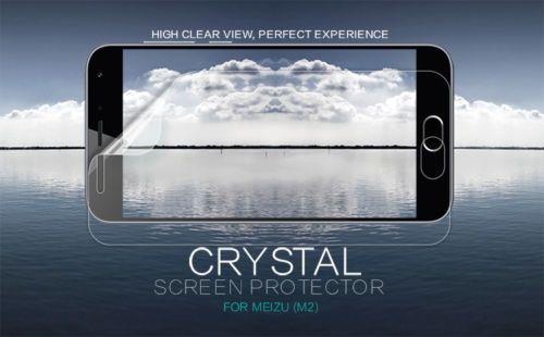 Защитная пленка Nillkin Crystal для Meizu M2 / M2 mini