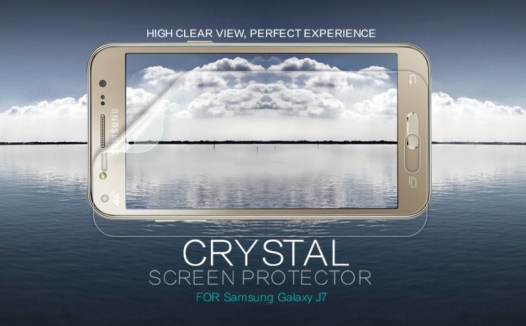 Защитная пленка Nillkin Crystal для Samsung J700H Galaxy J7