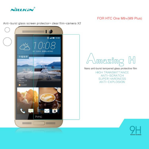 Защитное стекло Nillkin Anti-Explosion Glass Screen (H) для HTC One / M9+
