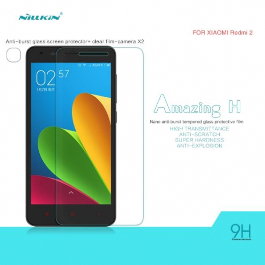 Защитное стекло Nillkin Anti-Explosion Glass Screen (H) для Xiaomi Redmi 2