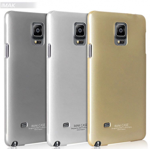 Пластиковая накладка IMAK Jazz genuine color case для Samsung N910H Galaxy Note 4
