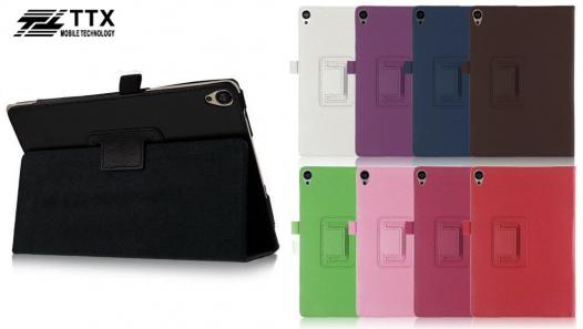 Кожаный чехол-книжка TTX с функцией подставки для HTC Google Nexus 9