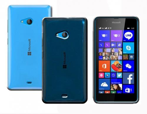 TPU чехол Remax 0.2mm для Microsoft Lumia 540