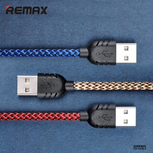 Дата кабель Remax (Nylon) lightning для Apple iPhone 6/6 plus/5/5S/5C/SE