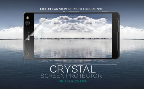 Защитная пленка Nillkin Crystal для Sony Xperia C5 Ultra
