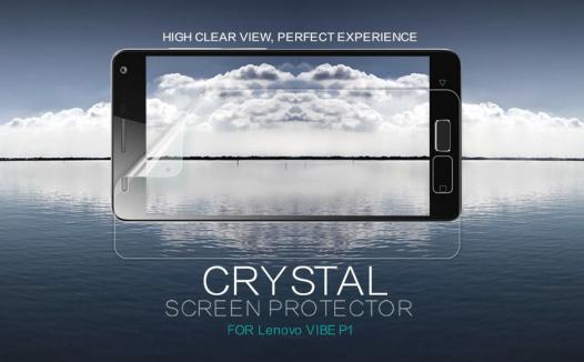 Защитная пленка Nillkin Crystal для Lenovo Vibe P1 / P1 Pro