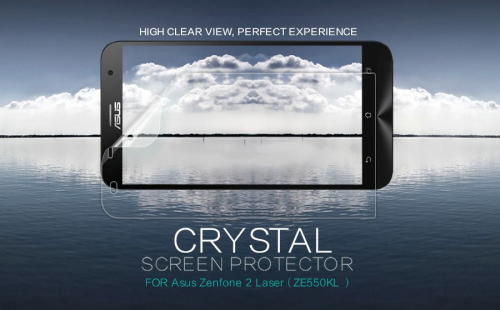 Защитная пленка Nillkin Crystal для Asus Zenfone 2 Laser (ZE550KL)