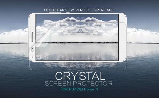 Защитная пленка Nillkin Crystal для Huawei Honor 7i