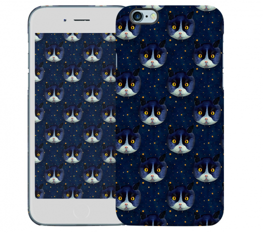 Чехол «Midnight Cat» для Apple iPhone 6 4.7
