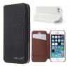 Кожаный чехол-книжка HOLILA Litchi Grain с подставкой для Apple iPhone 5/5S/SE