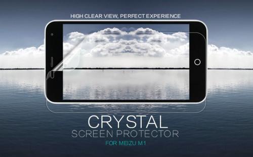 Защитная пленка Nillkin Crystal для Meizu M1/M1 mini