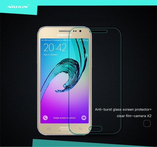 Защитное стекло Nillkin Anti-Explosion Glass (H) для Samsung J200H Galaxy J2 Duos