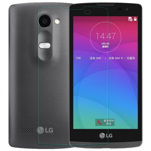 Защитное стекло Ultra Tempered Glass 0.33mm (H+) для LG H324 Leon (картонная упаковка)