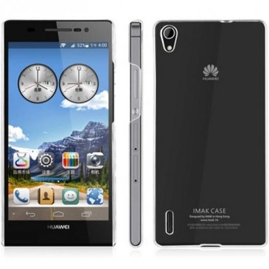 Пластиковая накладка IMAK Crystal Series для Huawei Ascend P7