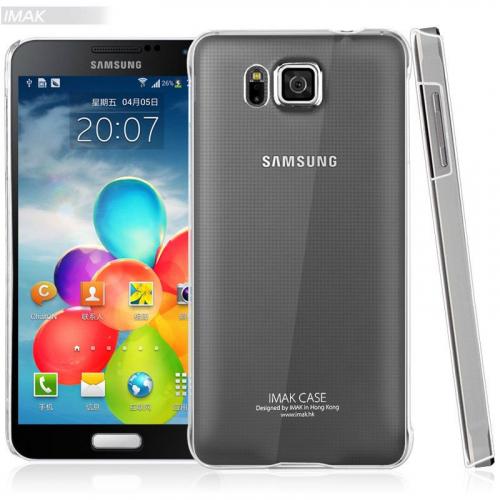 Пластиковая накладка IMAK Crystal Series для Samsung G850F Galaxy Alpha