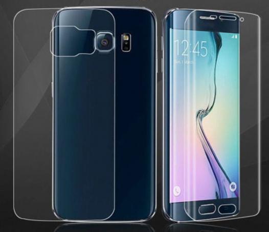 Бронированная полиуретановая пленка BestSuit (на обе стороны) для Samsung Galaxy S6 Edge Plus