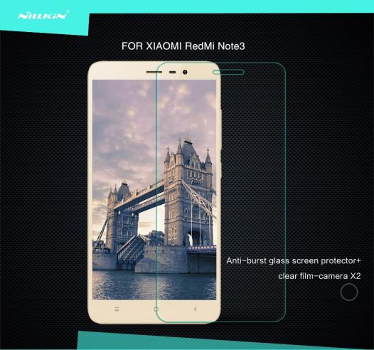 Защитное стекло Nillkin Anti-Explosion Glass Screen (H) для Xiaomi Redmi Note 3 / Redmi Note 3 Pro