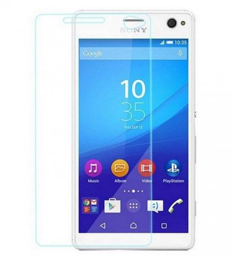 Защитное стекло Ultra Tempered Glass 0.33mm (H+) для Sony Xperia C4 (картонная упаковка)
