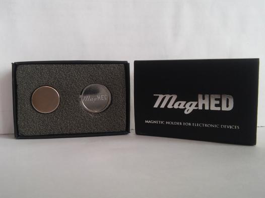 Универсальный магнитный держатель MagHed для смартфонов
