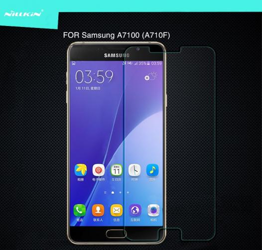 Защитное стекло Nillkin Anti-Explosion Glass (H) для Samsung A710F Galaxy A7 (2016)