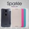 Кожаный чехол (книжка) Nillkin Sparkle Series для Motorola Nexus 6