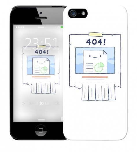 Чехол «404» для Apple iPhone 5/5s