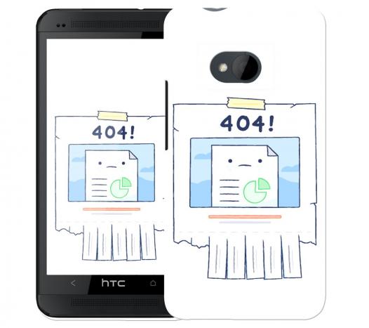 Чехол «404» для HTC One