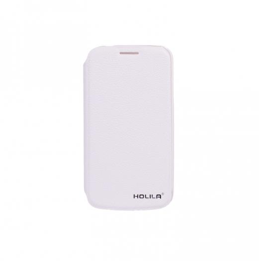 Кожаный чехол-книжка HOLILA Litchi Grain с подставкой для Samsung i9500 Galaxy S4
