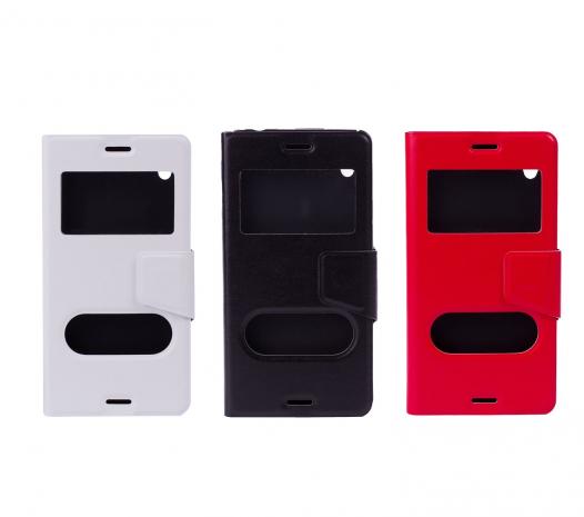 Чехол (книжка) с TPU креплением для Sony Xperia M4 Aqua