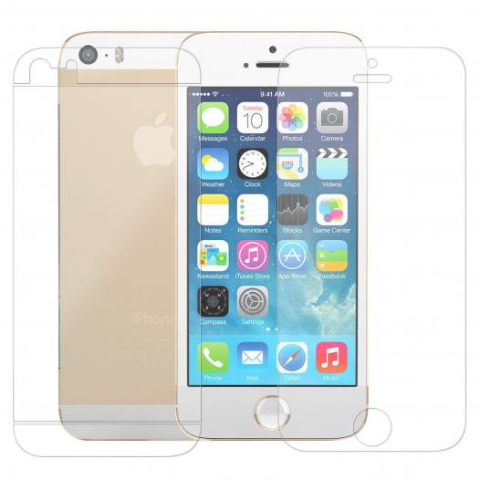 Защитная пленка Auris (на обе стороны) для Apple iPhone 5/5S/5C/SE