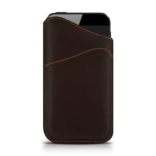 Кожаный футляр Aston Martin Slim ID Series для Apple iPhone 5/5S