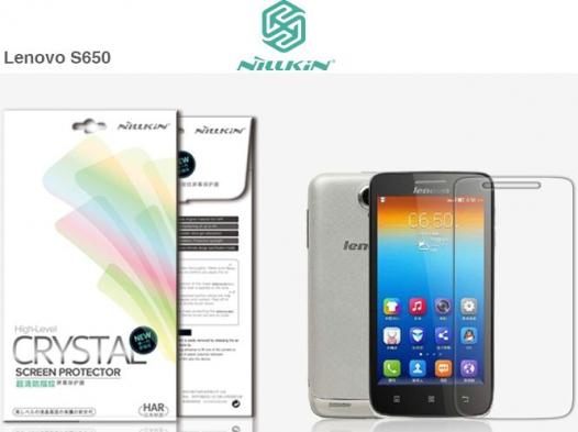 Защитная пленка Nillkin Crystal для Lenovo S650 (Vibe X mini)