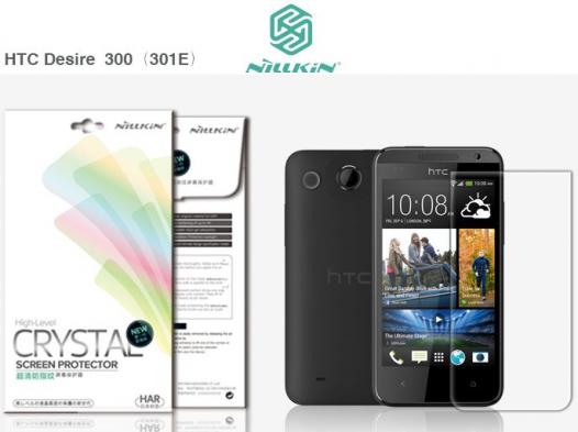 Защитная пленка Nillkin Crystal для HTC Desire 300