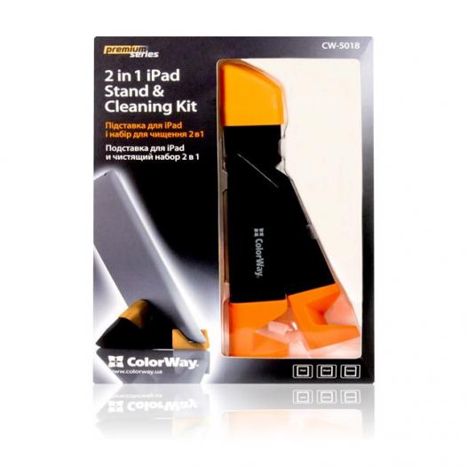 Чистящий Premium набор Color-Way и подстав. для iРad CW-5018