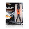 Чистящий Premium набор Color-Way и стилус 2 в 1 CW-2078