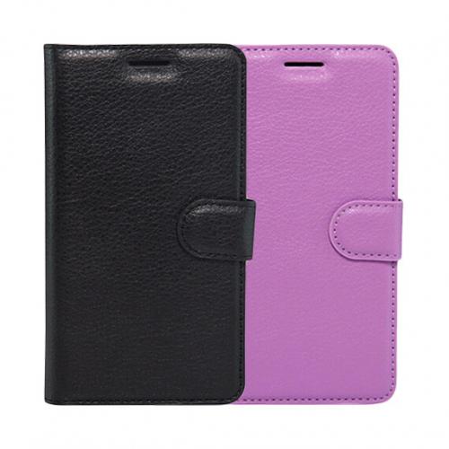 Кожаный чехол (книжка) Wallet с визитницей для Meizu M3 Note