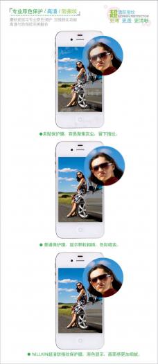 Защитная пленка Nillkin Crystal для Huawei Ascend P6