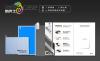 Кожаный чехол (книжка) Nillkin для Sony Xperia Z1 (+ пленка)