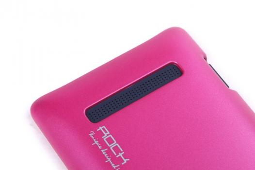 Пластиковая накладка ROCK NEW NakedShell series для HTC 8S