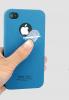 Пластиковая накладка IMAK Cowboy series для Apple iPhone 4/4S (+ пленка)