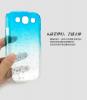 Пластиковая накладка IMAK Colorful Raindrop Series для Samsung i9300 Galaxy S3 (+ пленка)