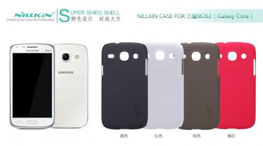 Чехол Nillkin Matte для Samsung i8262 Galaxy Core (+ пленка)